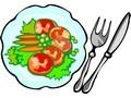 obraz obiad