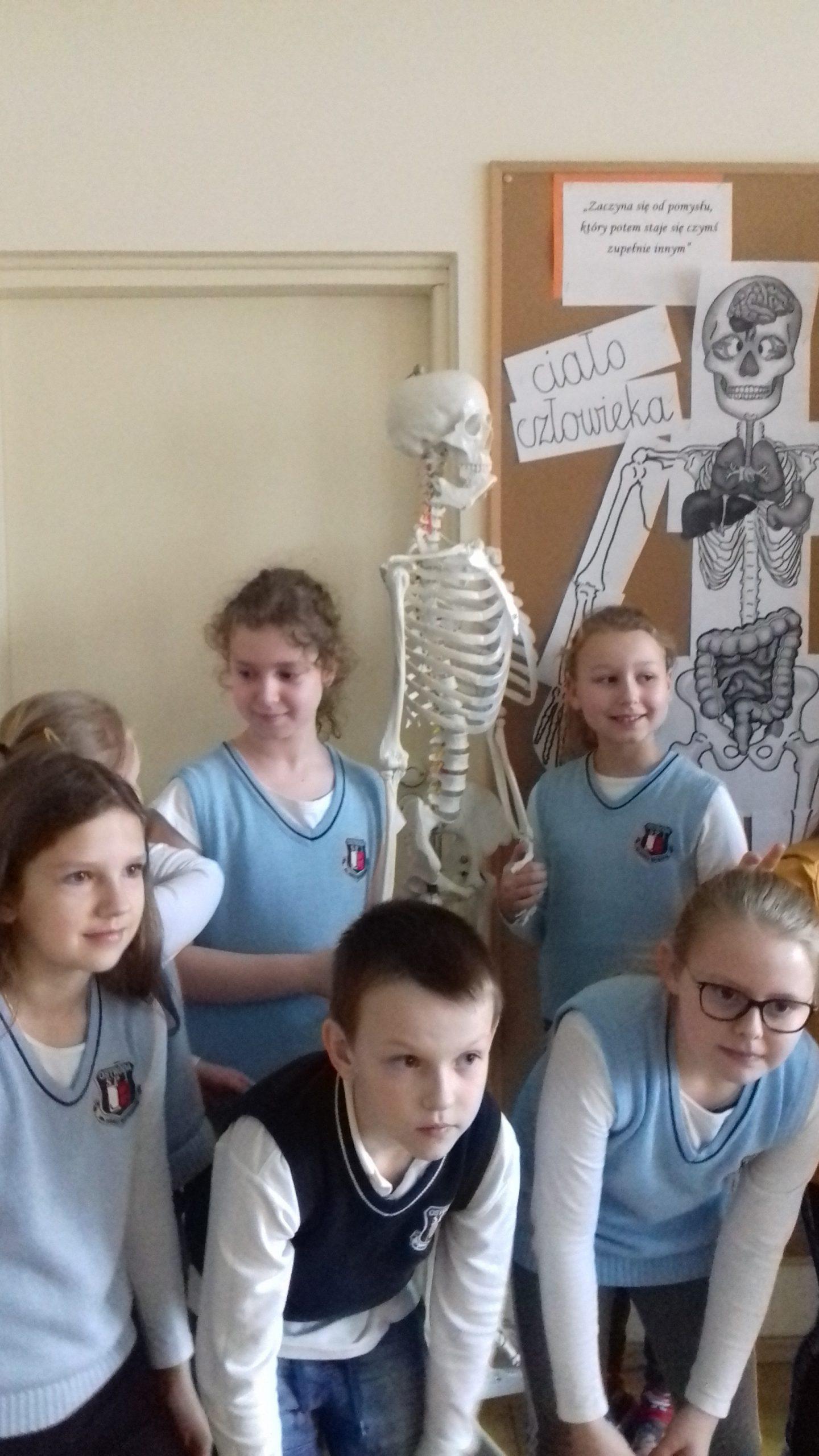 Edukacja przyrodnicza wklasie 3B – ciało człowieka