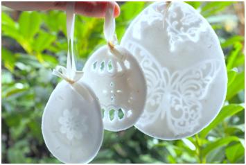 masa porcelanowa pisanki