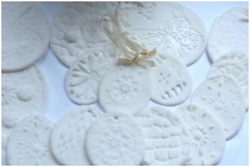 masa porcelanowa - ozdoby